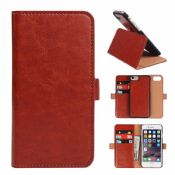 Wallet Leather Cover for Iphone 7 images