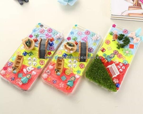 DIY Stereoscopic Flower Cover PC Case