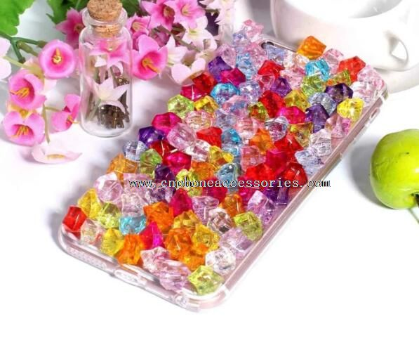 for iPhone 6 crystal candy case