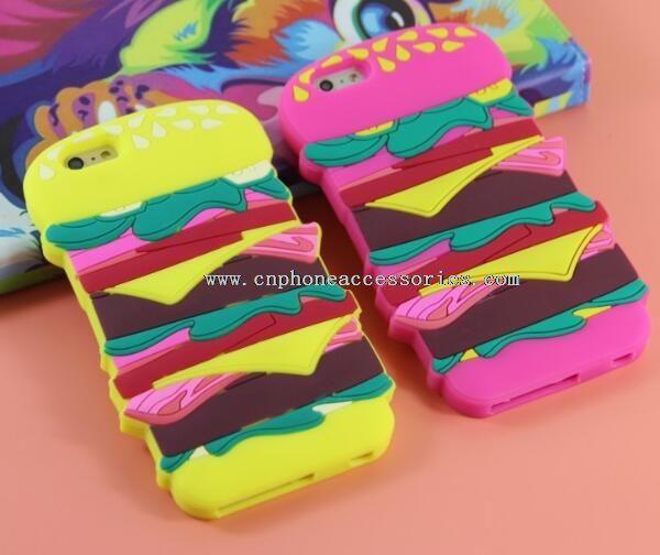 Hamburger Soft Silicone Case For iPhone 6 Plus