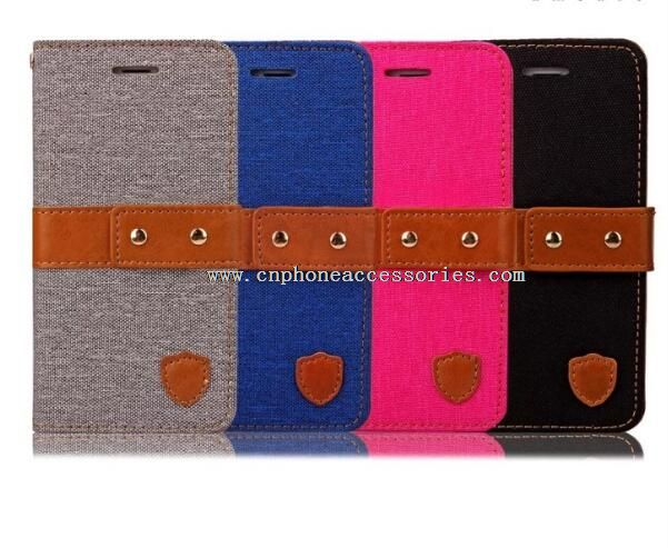 Leather Coated Hard Cover Back Case for iphone6