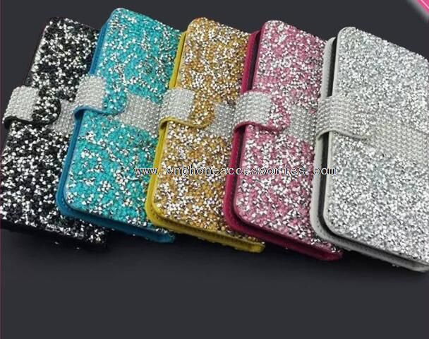 Leather Diamond Case For iPhone 6/6 Plus
