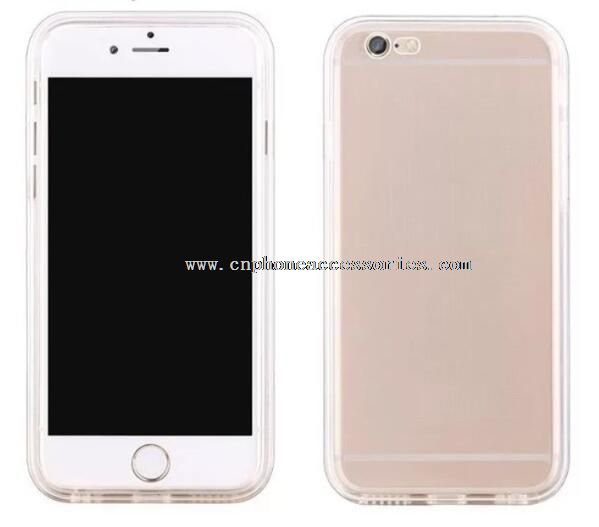 Light Flash TPU Jelly Case For iPhone 6S
