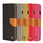 Durable PU Wallet Leather Case For iPhone 6 images