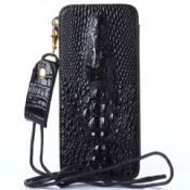 For iPhone 6 Crocodile Wallet Case images