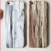 Full Protective with stand wood For iPhone 6s images