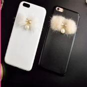 Pearl Pendant PU Case For iPhone 6 6Plus images