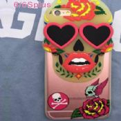Skull TPU Case For iPhone 6 Plus images