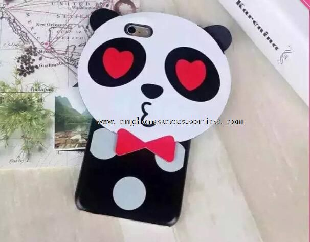 Panda design phone hard case for iphone 6 6S Plus