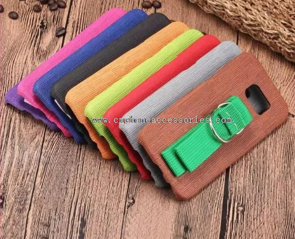 PC+PU Wood Grain Solid Wood Case For iphone6s