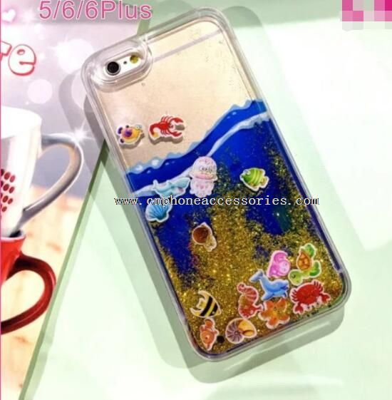 Quicksand phone case for iphone5 6 6s
