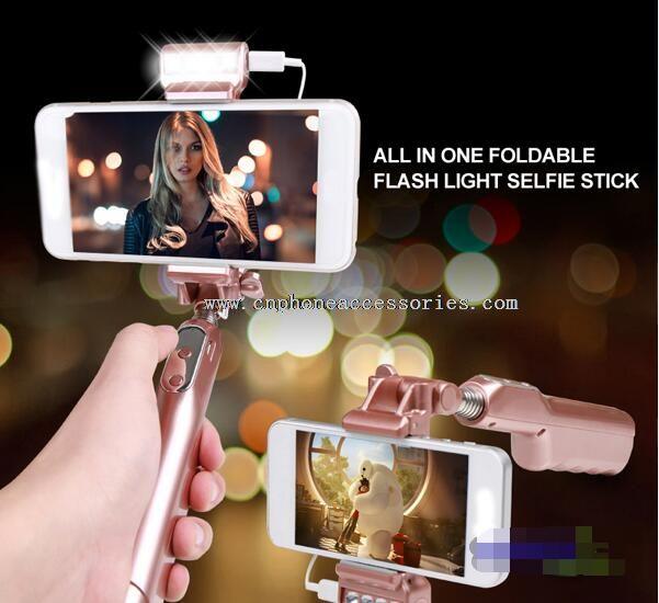 selfie light selfie stick with remote control