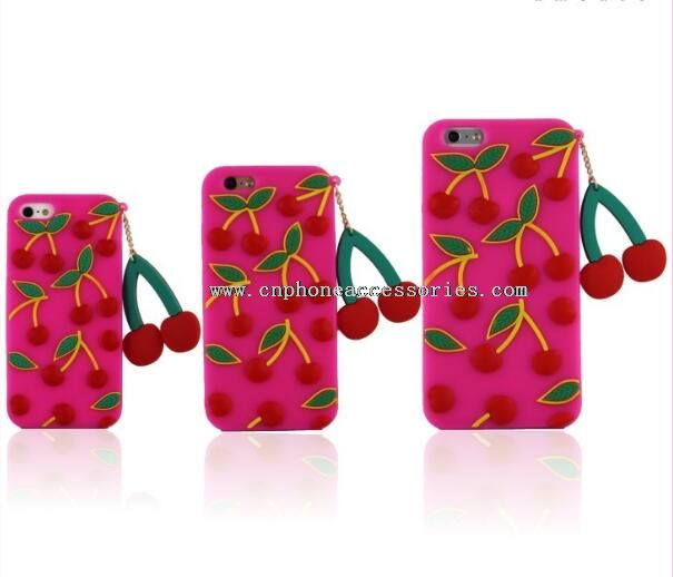 Silicon Fruit Mobile Case For iPhone 6
