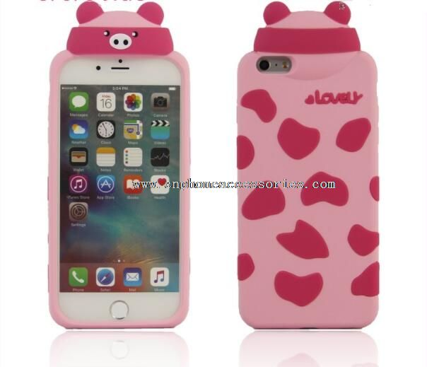 silicone cell phone case for iphone6s plus