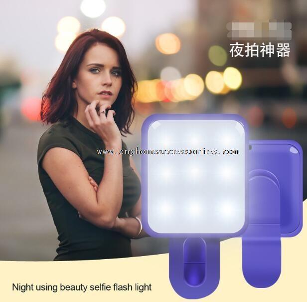 Smartphone LED Selfie Light