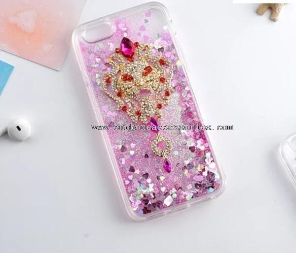 Tassel Pendant Soft TPU Case for iphone6 6s