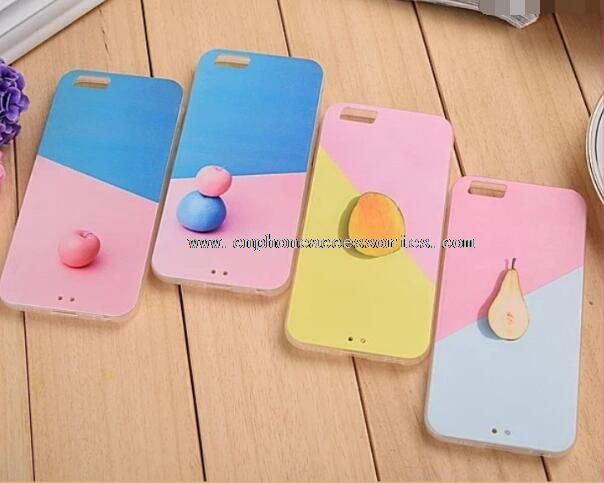 TPU sweet-fruit phone case cover for iphone5/6