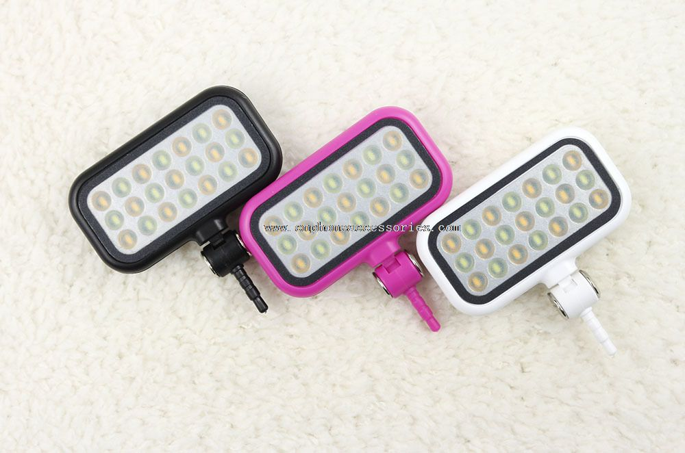LED selfie flash light for camera