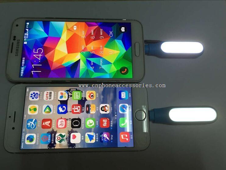 Mini micro-usb Portable Selfie Flash Light 16 LEDS
