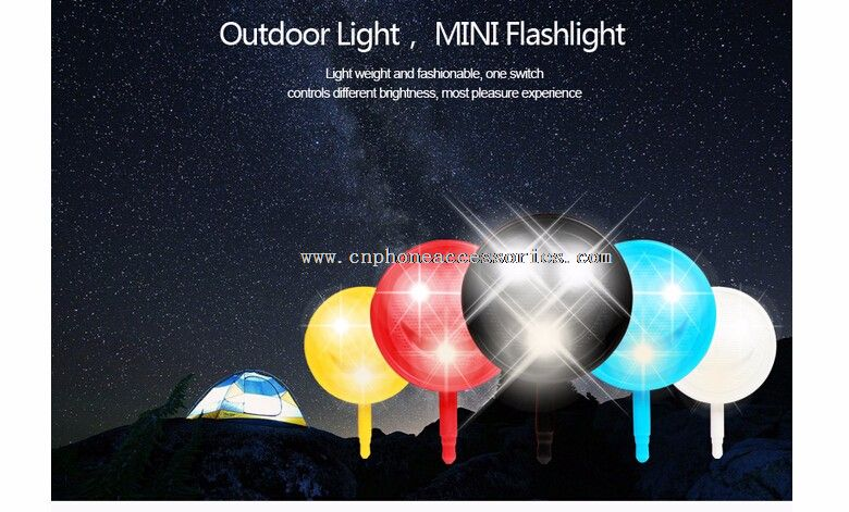 mobile phone flashing led light and enhancing flash