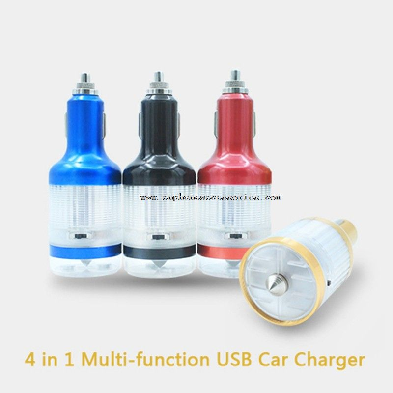 Starting Car Charger With Warning Light