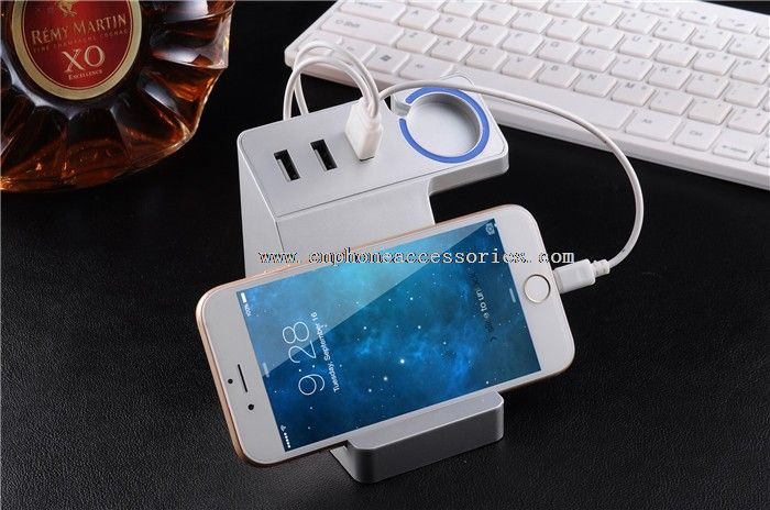 USB bracket quickly mobile charger