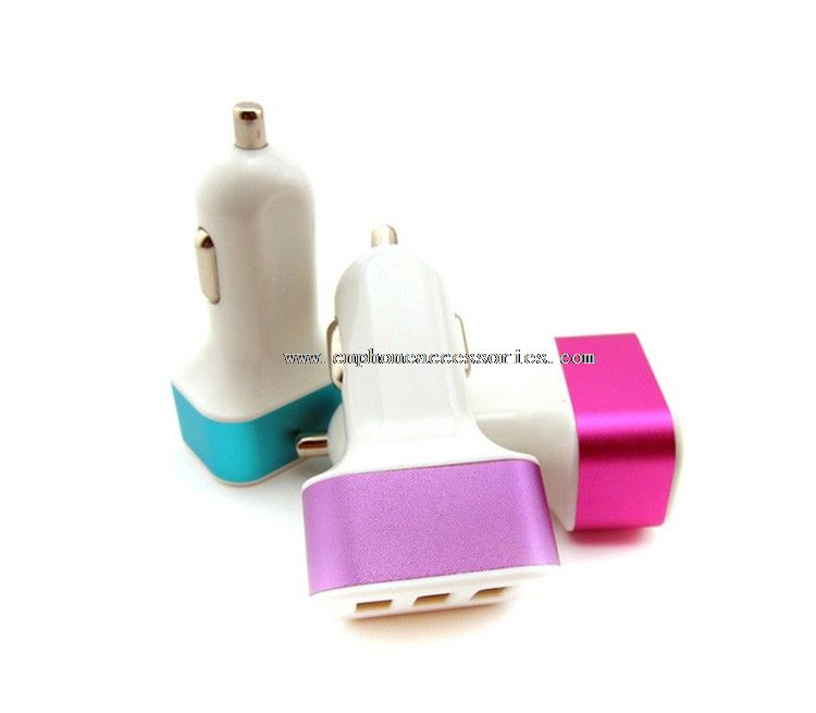 usb car charger with adaptor