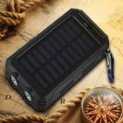solar power bank with compass images