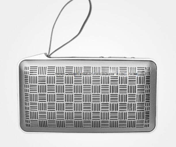 10W Stereo Out Aluminium Alloy Edge Wireless Bluetooth Speaker