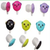 cartoon image in earphone images