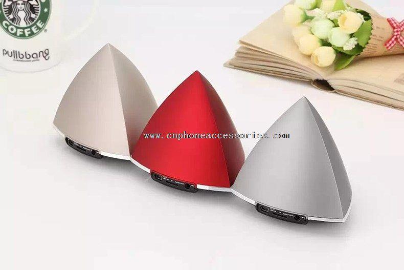 mini triangle shape bluetooth speaker