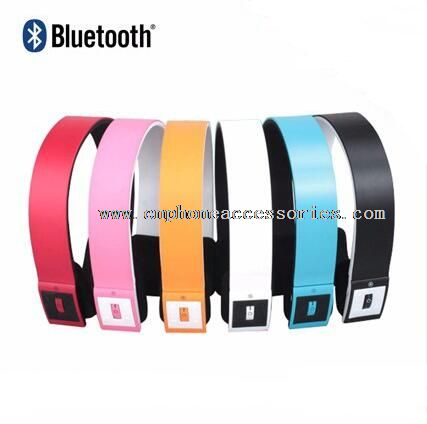 wireless headphones with stereo bluetooth