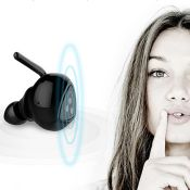 wireless double ear bluetooth earphones images
