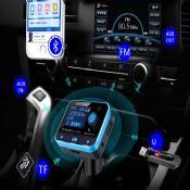 wireless in-car bluetooth fm transmitter images