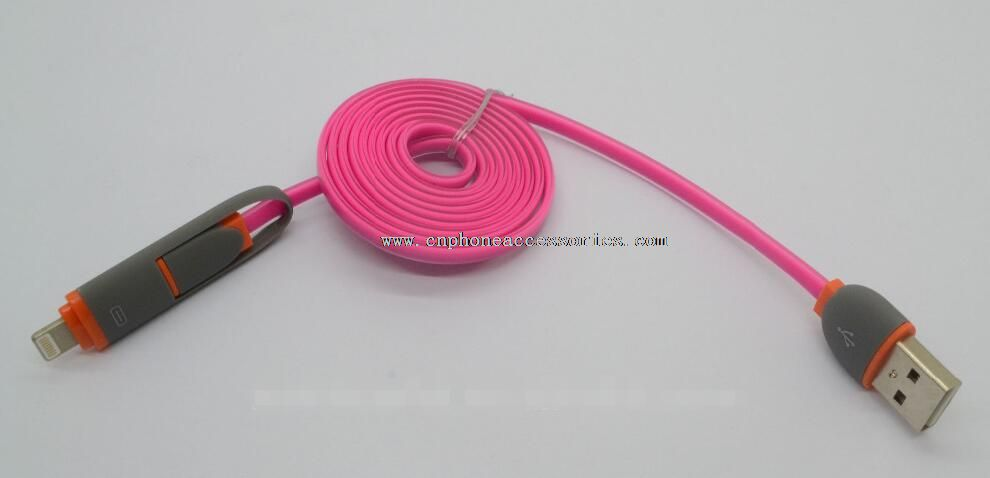 2 in 1 proved 8 pin usb cable