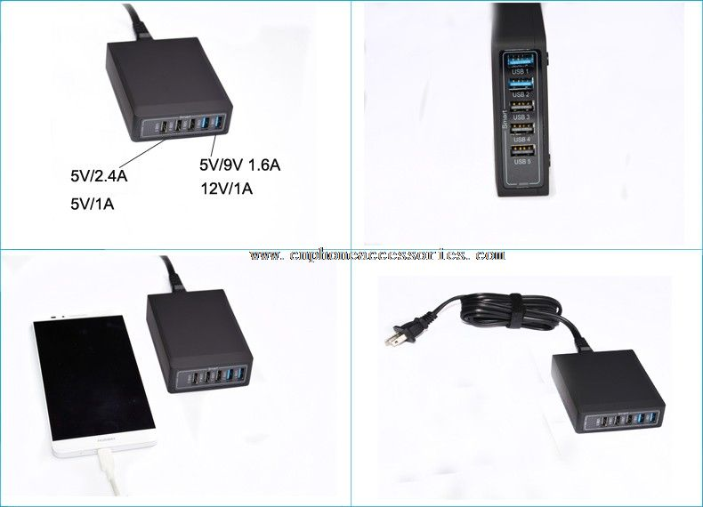 5 Port Chargers