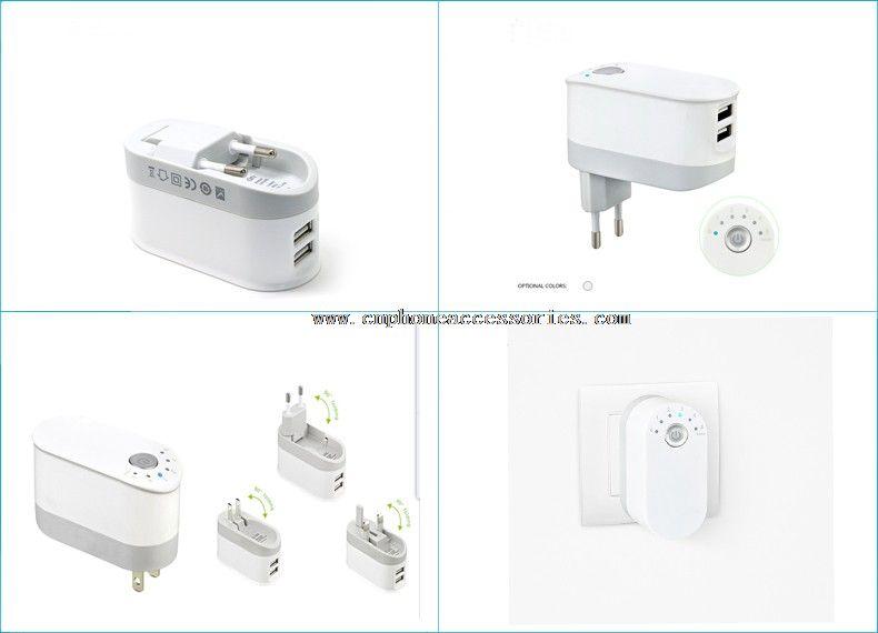 5V 2.4A Output USB Chargers