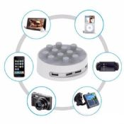 4 USB Ports 5V 6.8A phone charging station for iphone 7 images