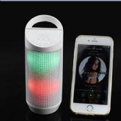 Bluetooth speaker with LED Colorful Lights images