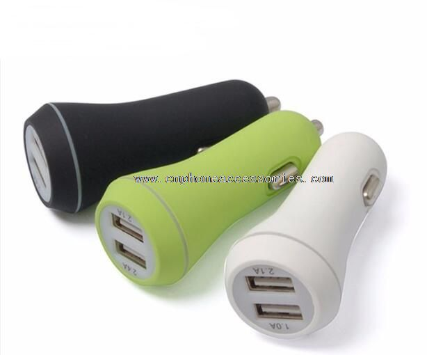 Phone Car Charger with Battery Voltage