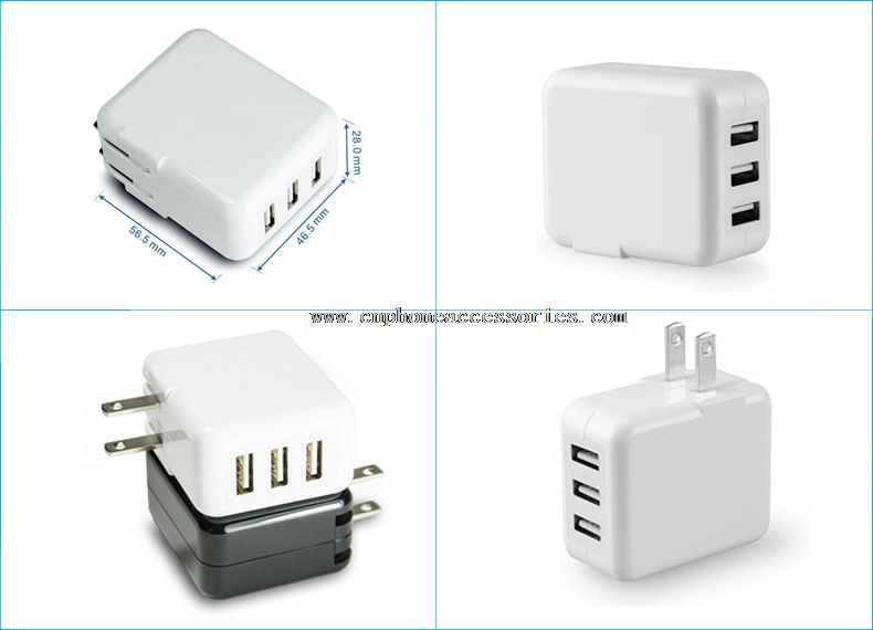 Travel USB Charger For Mobile Phone