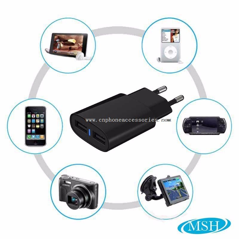 Travel Wall Charger for iPhone 5 6 7 plus