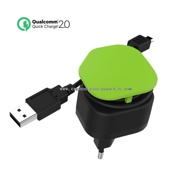 Wall Charger Single USB QC2.0