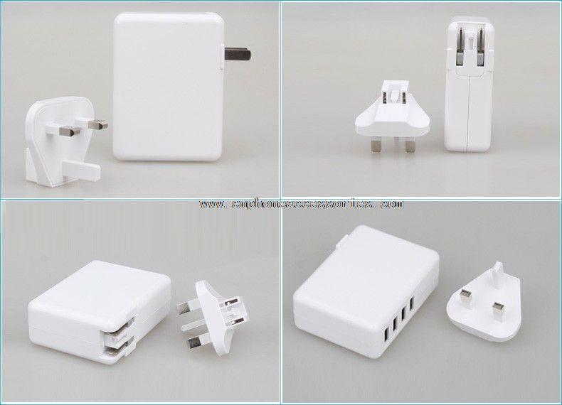 Wall USB Charger With Removable Plug