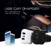 2USB Type-c quick travel car charger images