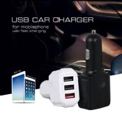 3USB Type-c quick travel car charger images