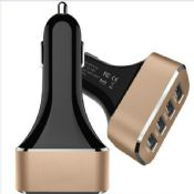 4 port usb car charger images