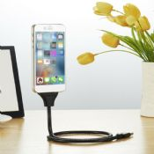 USB 8pin Charging Cable Stand 2 in 1 for Iphone 5/6/7 images