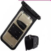 waterproof phone bag with arm band images