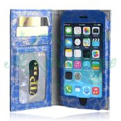 Leather Flip Wallet Case Cover for iphone 6 images